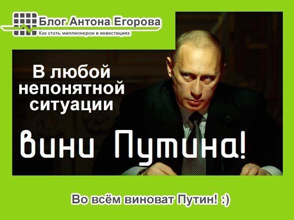 во всём виноват Путин