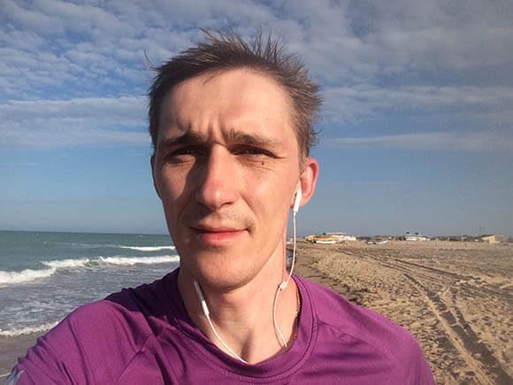 пробежка по берегу