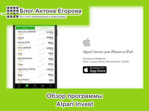 Альпари Инвест обзор