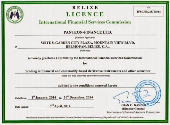 License belize