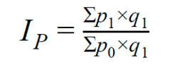 Формула инфляции индекс Пааше