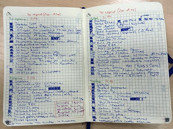 фото планирование недели